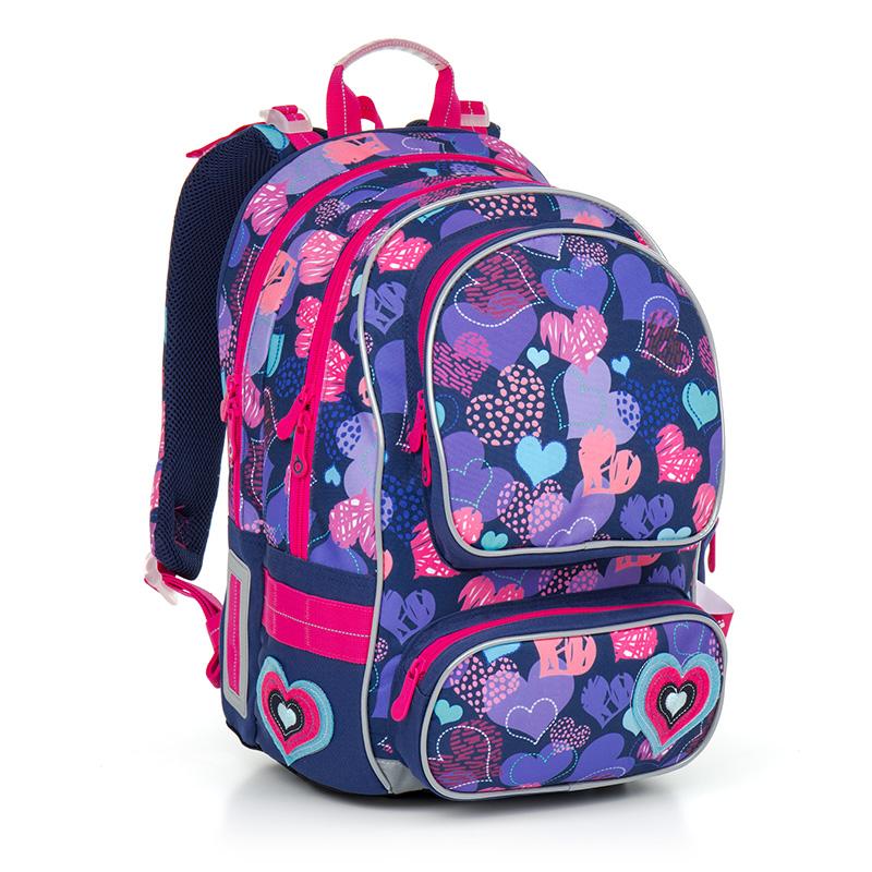 Topgal školní batoh Chilli CHI 804 H Pink