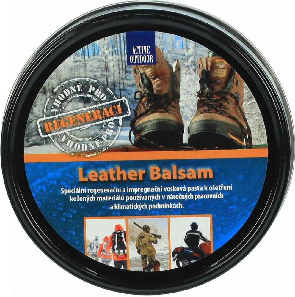 Sigal Active Outdoor Leather Balsam Obsah: 100 g