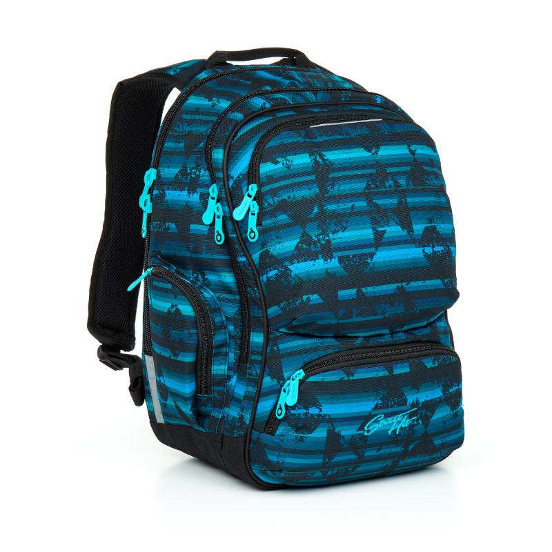 Topgal studentský batoh HIT 864 D Blue