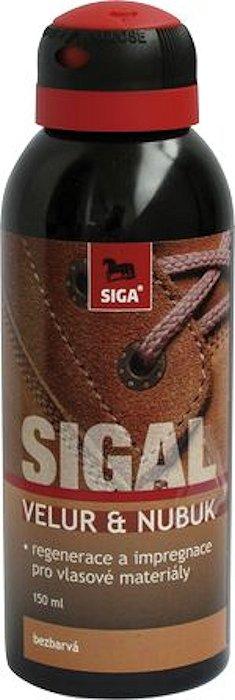 Sigal velur - nubuk sprej 150 ml Barva: Černá