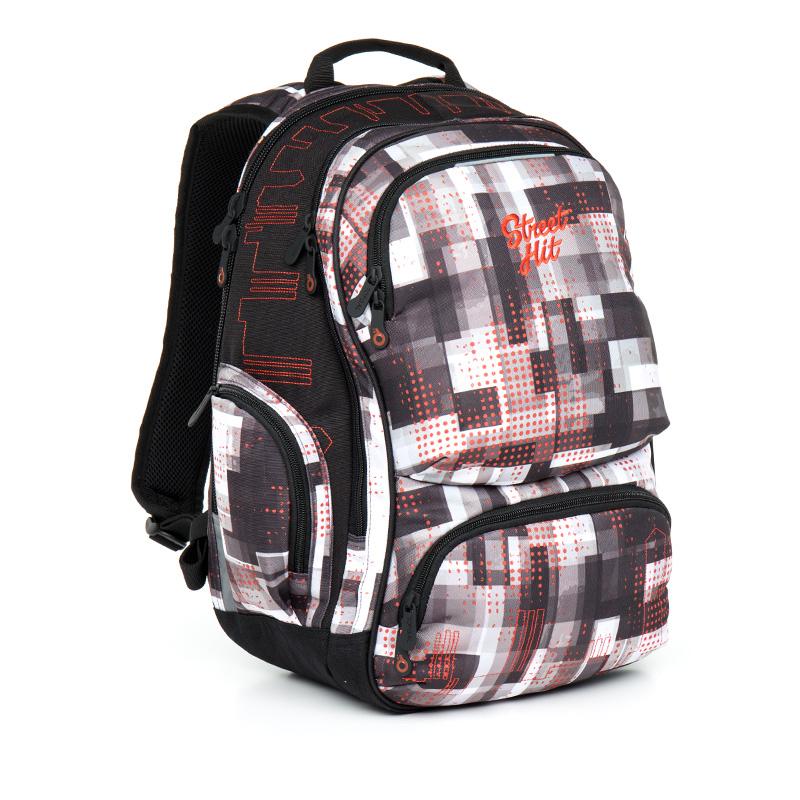 Topgal studentský batoh HIT 866 C Grey