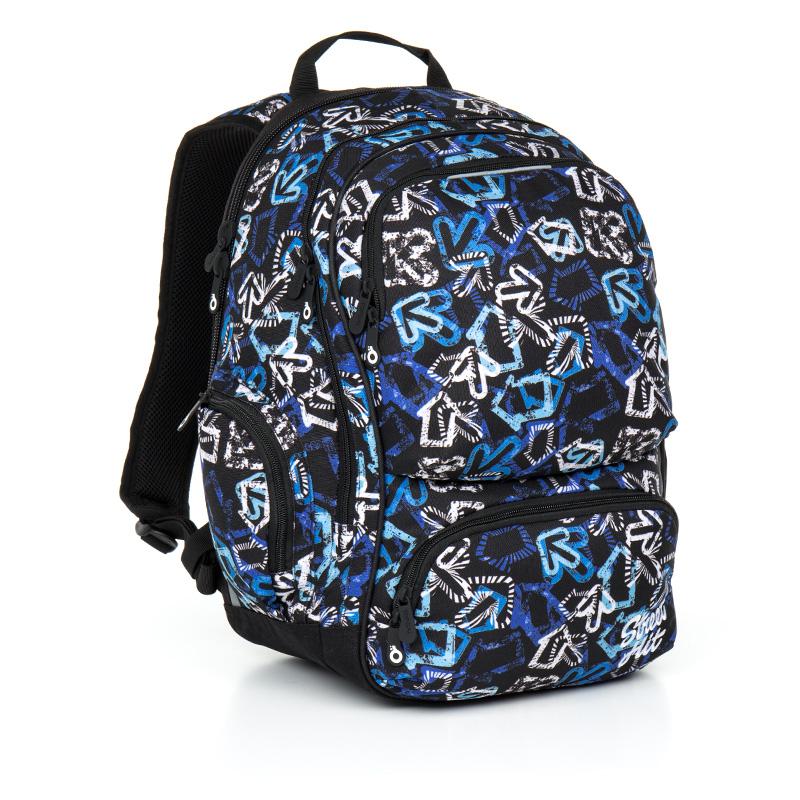 Topgal studentský batoh HIT 867 D Blue