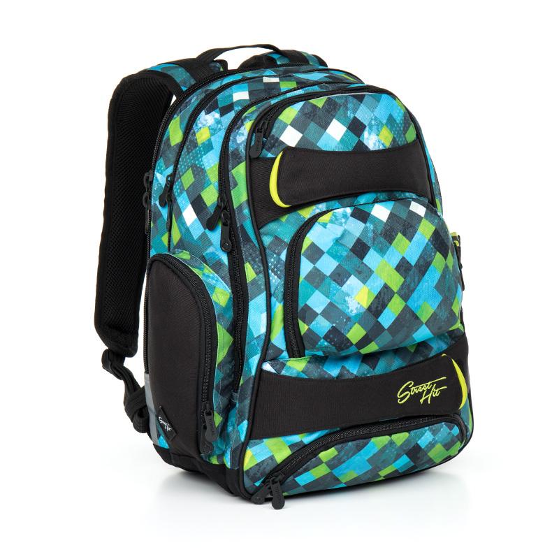 Topgal studentský batoh HIT 869 E Green
