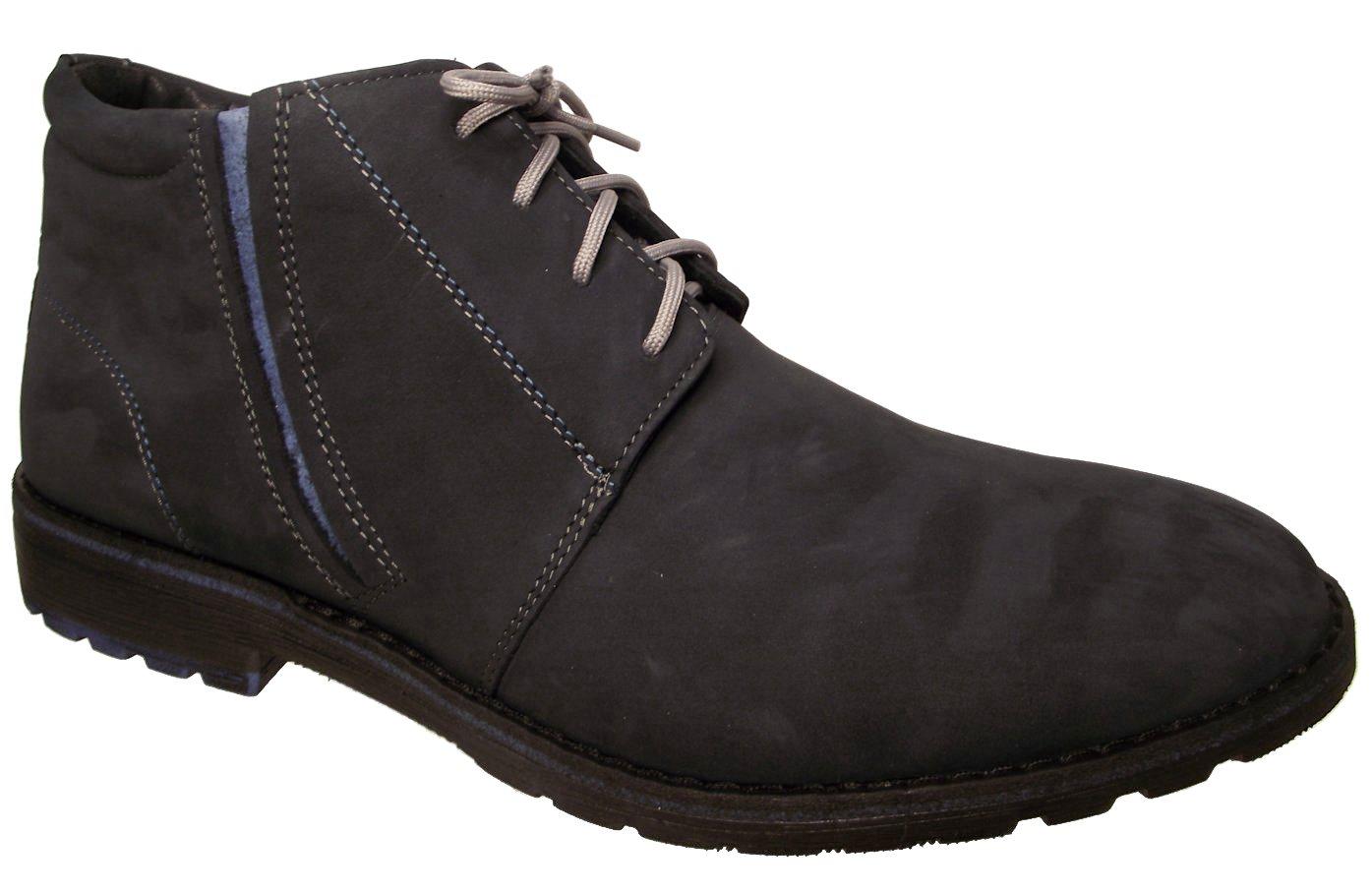 Pánská zimní kotníková obuv Kira 236 modrá Velikost: 40 (EU)