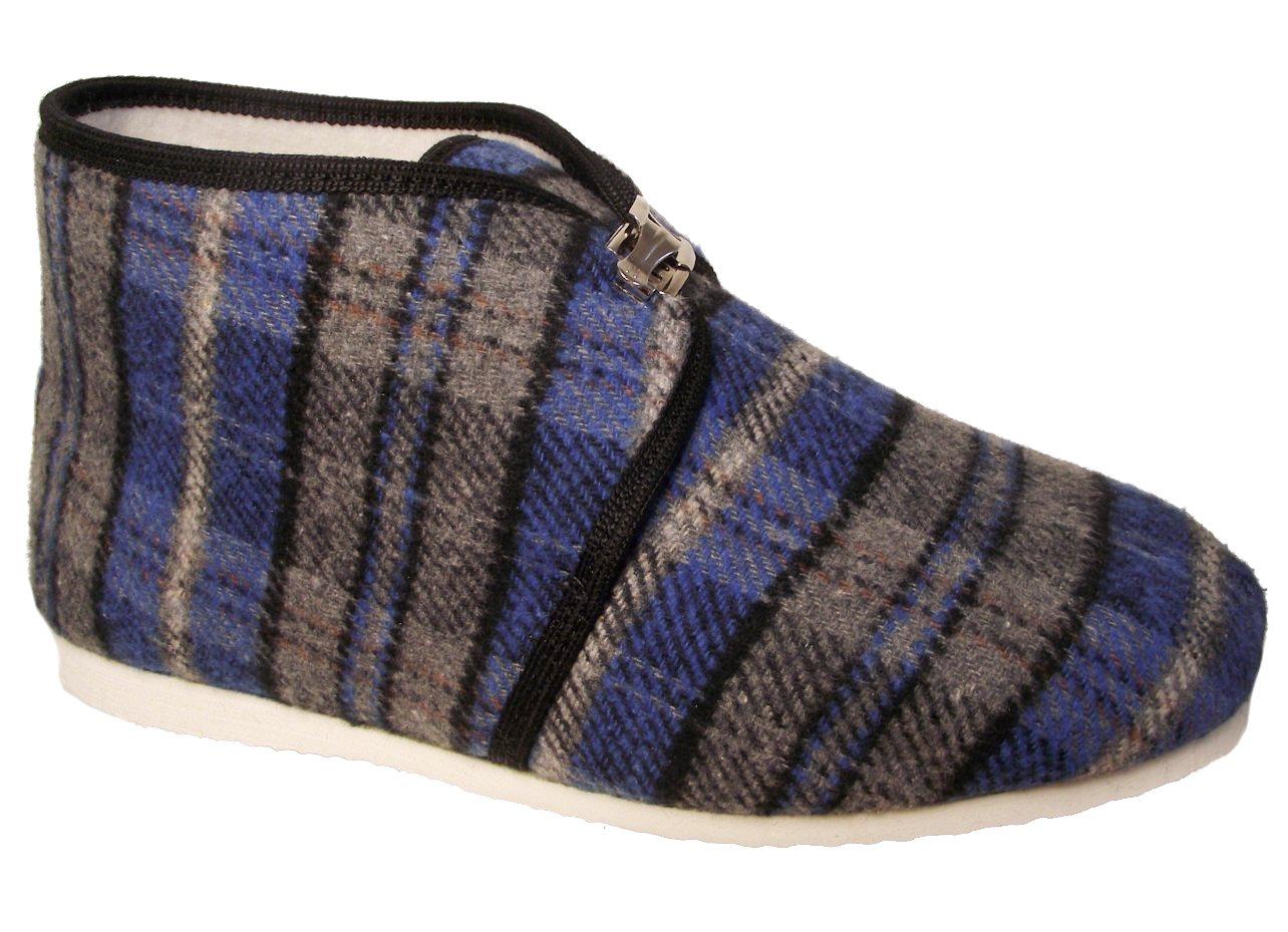 Pánské domácí papuče Bokap 073 modrá Velikost: 42 (EU)