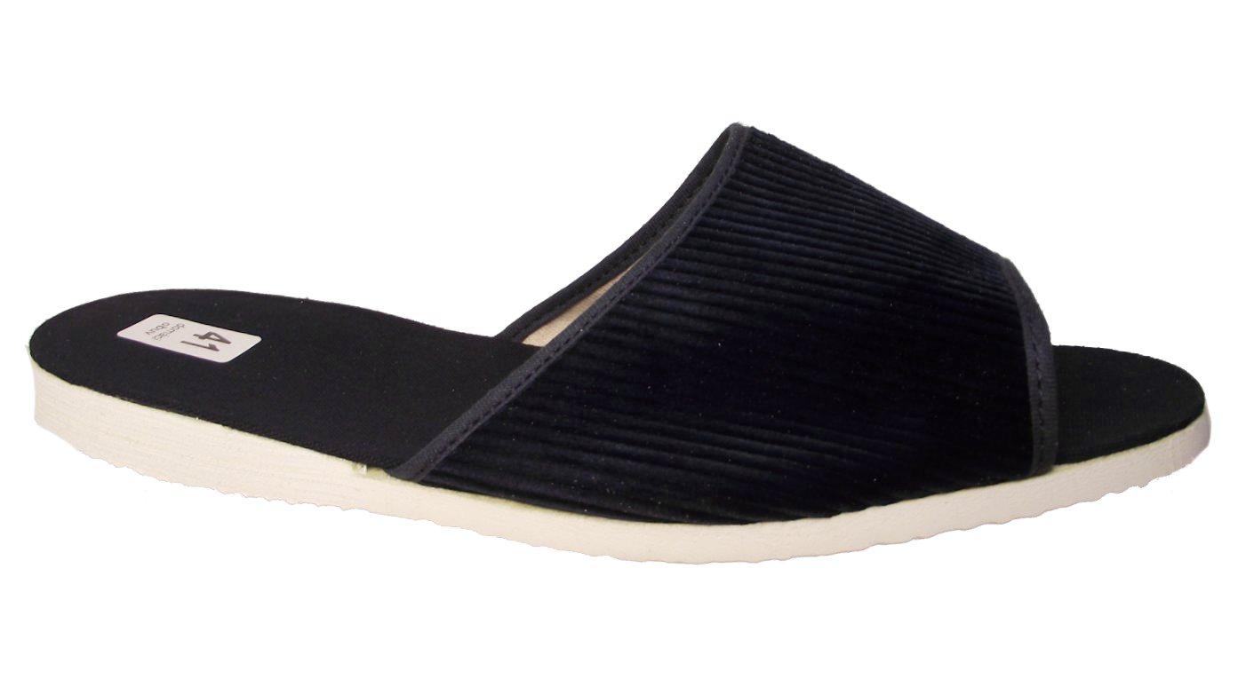 Pánské domácí pantofle Bokap 017 modrá manžestr Velikost: 40 (EU)