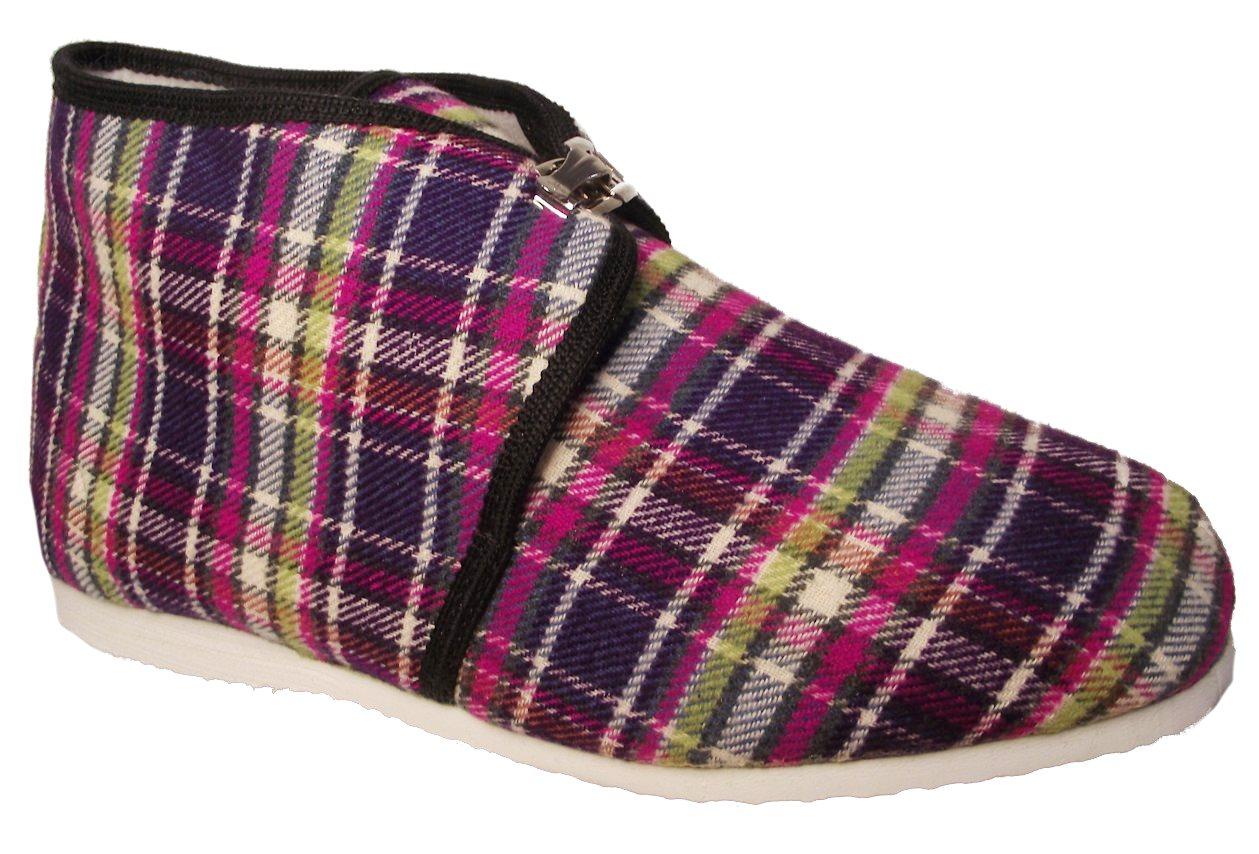 Dámské domácí papuče Bokap 063 fialová Velikost: 41 (EU)