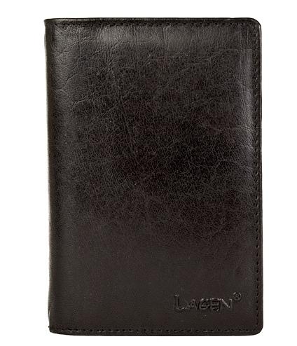 Pánská kožená dokladovka Lagen V-60 černá