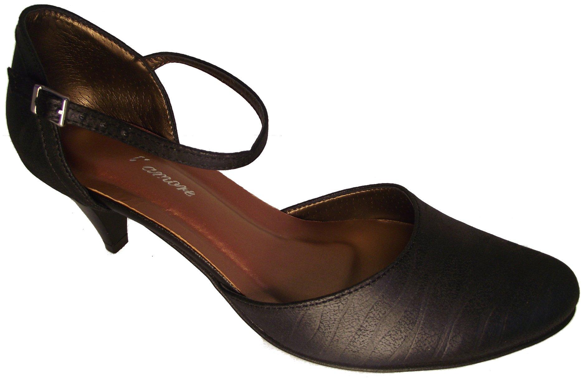 Dámská společenská obuv NES 2532 černá Velikost: 38 (EU)