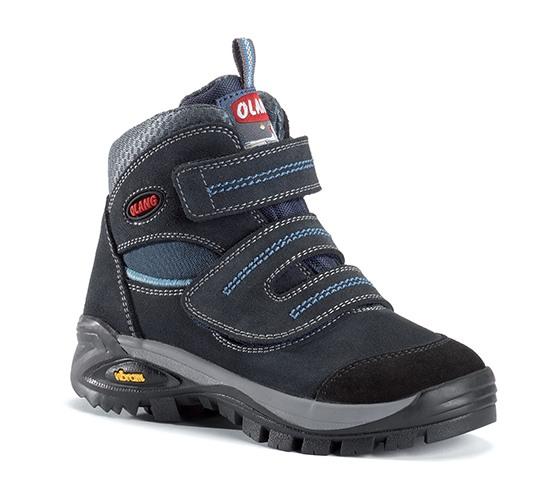 Dětská kotníková treková obuv Olang Fox kid.Tex tmavě modrá Velikost: 31 (EU)