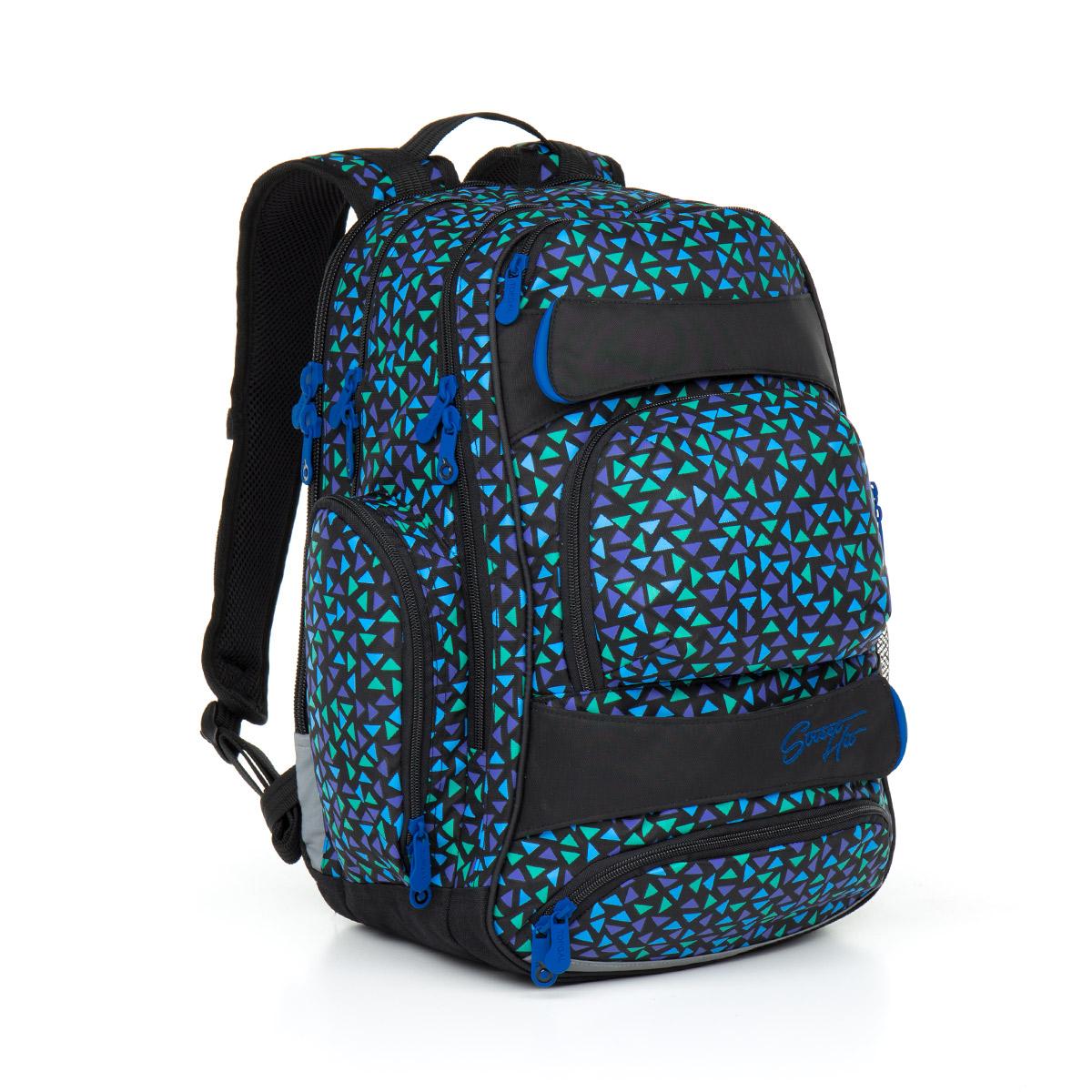 Topgal studentský batoh HIT 868 D Blue