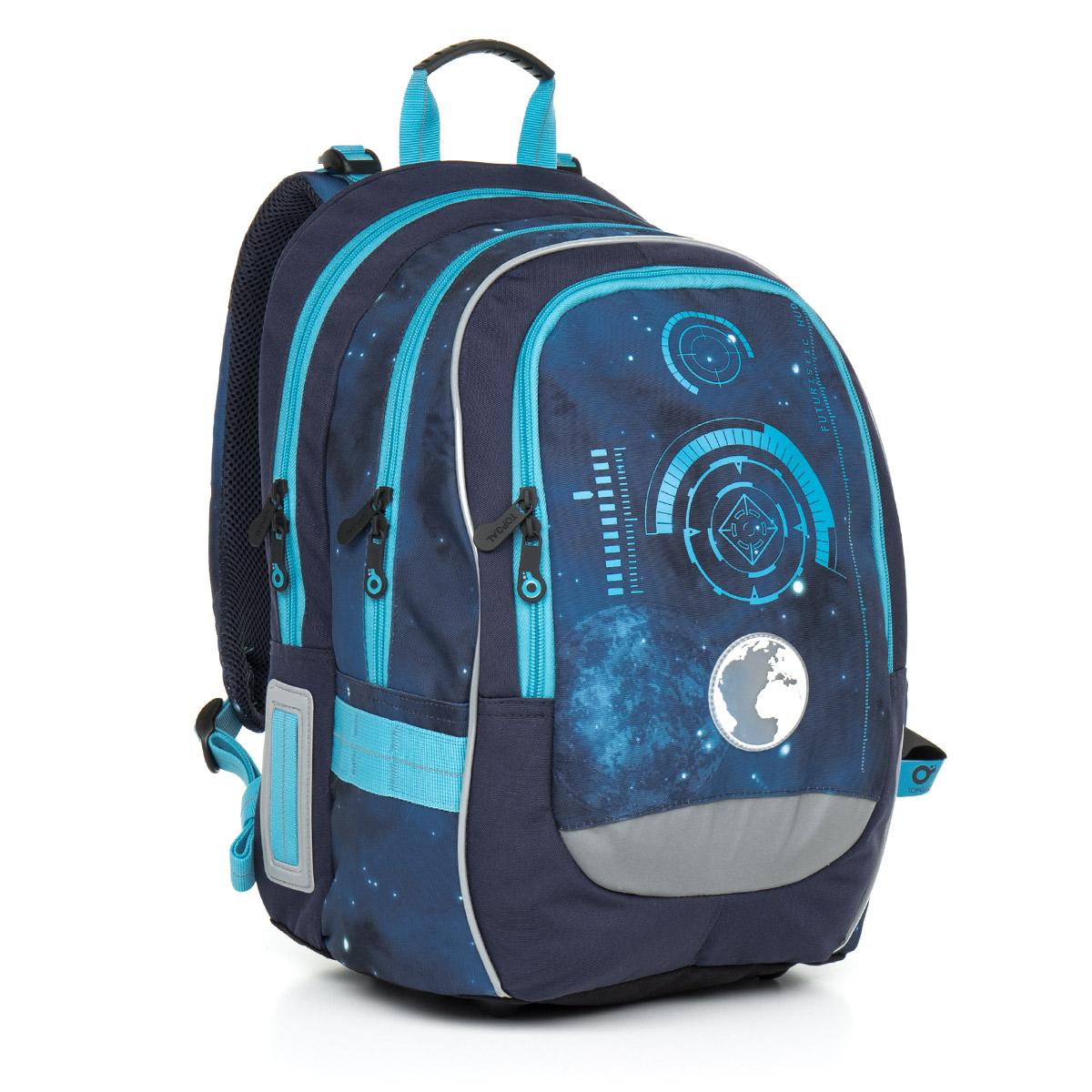 Topgal školní batoh Chilli CHI 799 D Blue