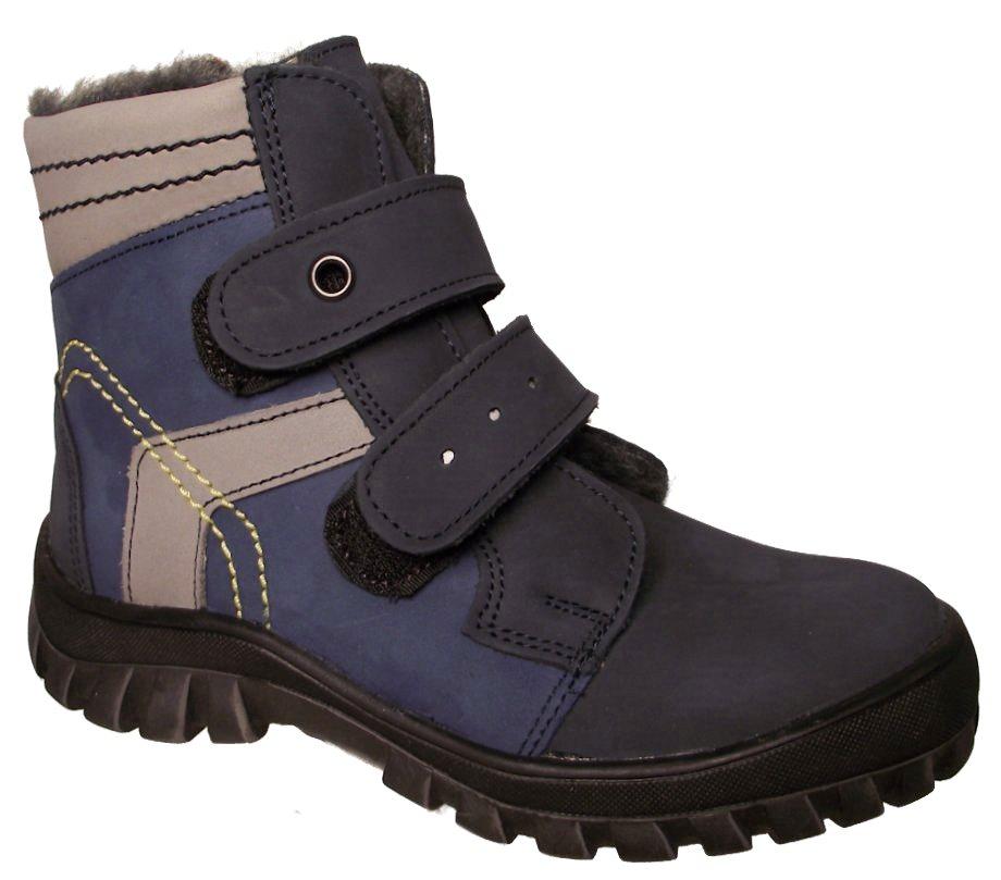 Dětské zimní kotníkové boty Essi S 1660 modré Velikost: 35 (EU)