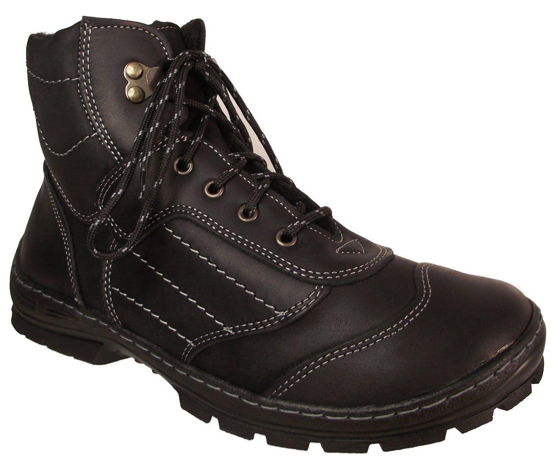 Pánská zimní obuv NES 4205 černá Velikost: 42 (EU)