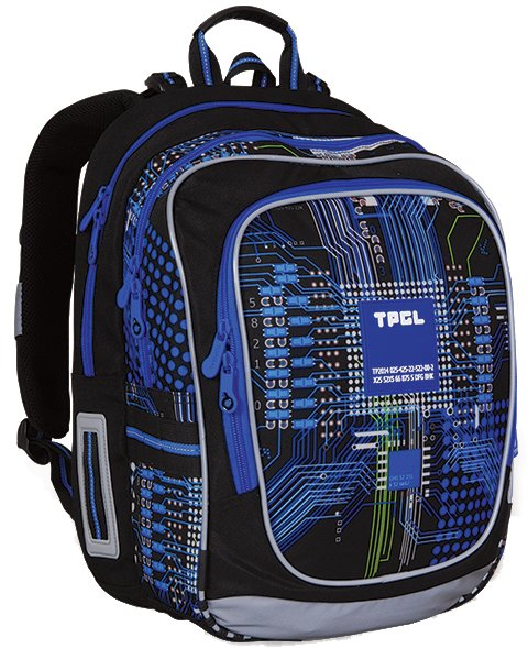 Topgal Školní batoh - CHI 742 D Blue