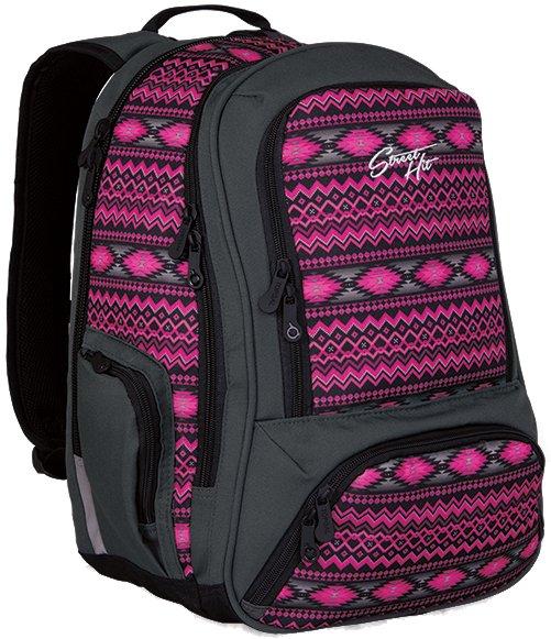 Topgal Studentský batoh HIT 822 H - Pink