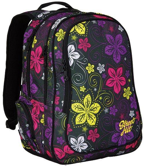 Topgal Studentský batoh HIT 832 A - Black