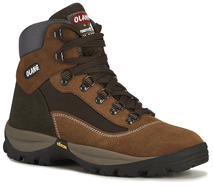 Dámská kotníková treková obuv Olang Cortina.Tex hnědá Velikost: 39 (EU)