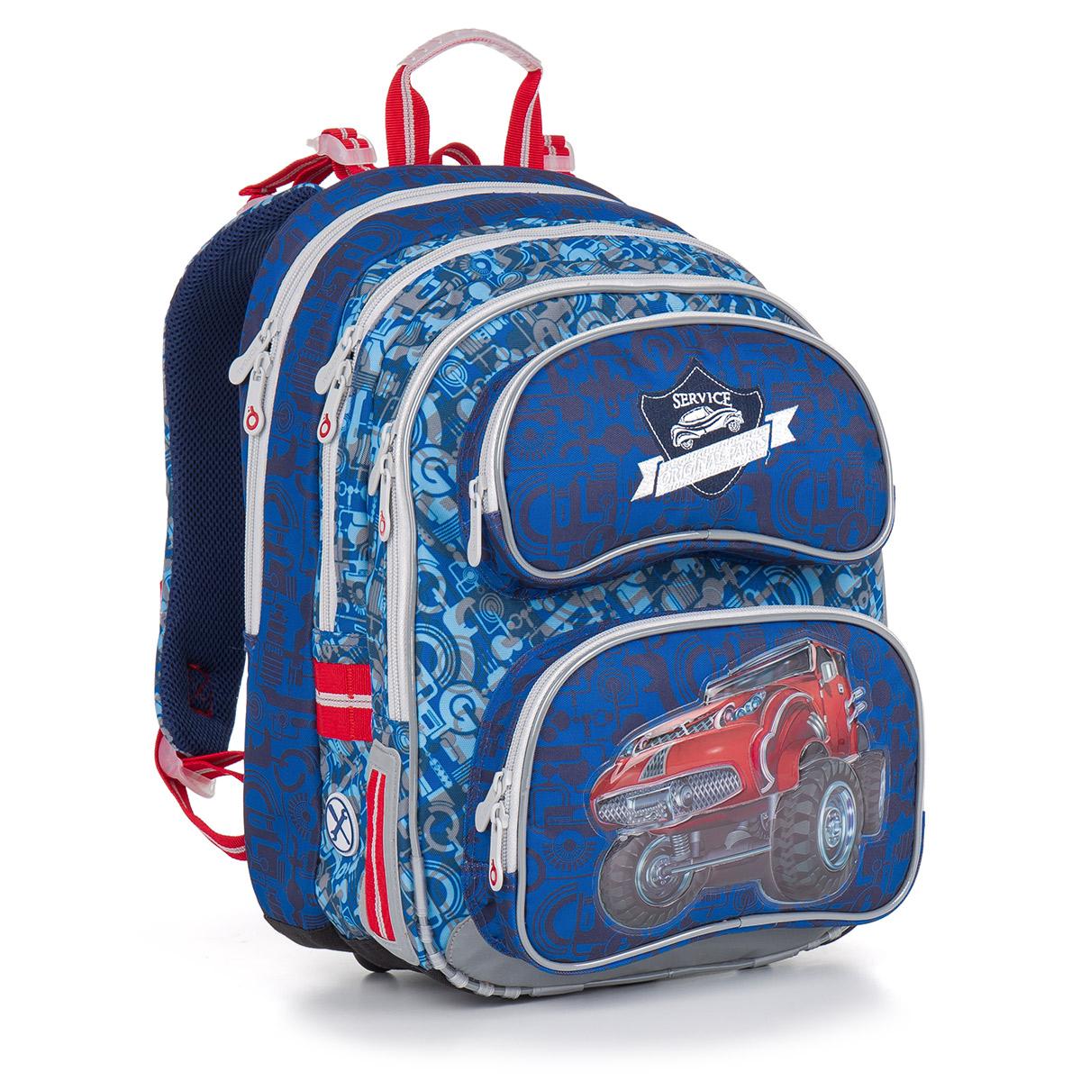 Topgal školní batoh CHI 841 D Blue