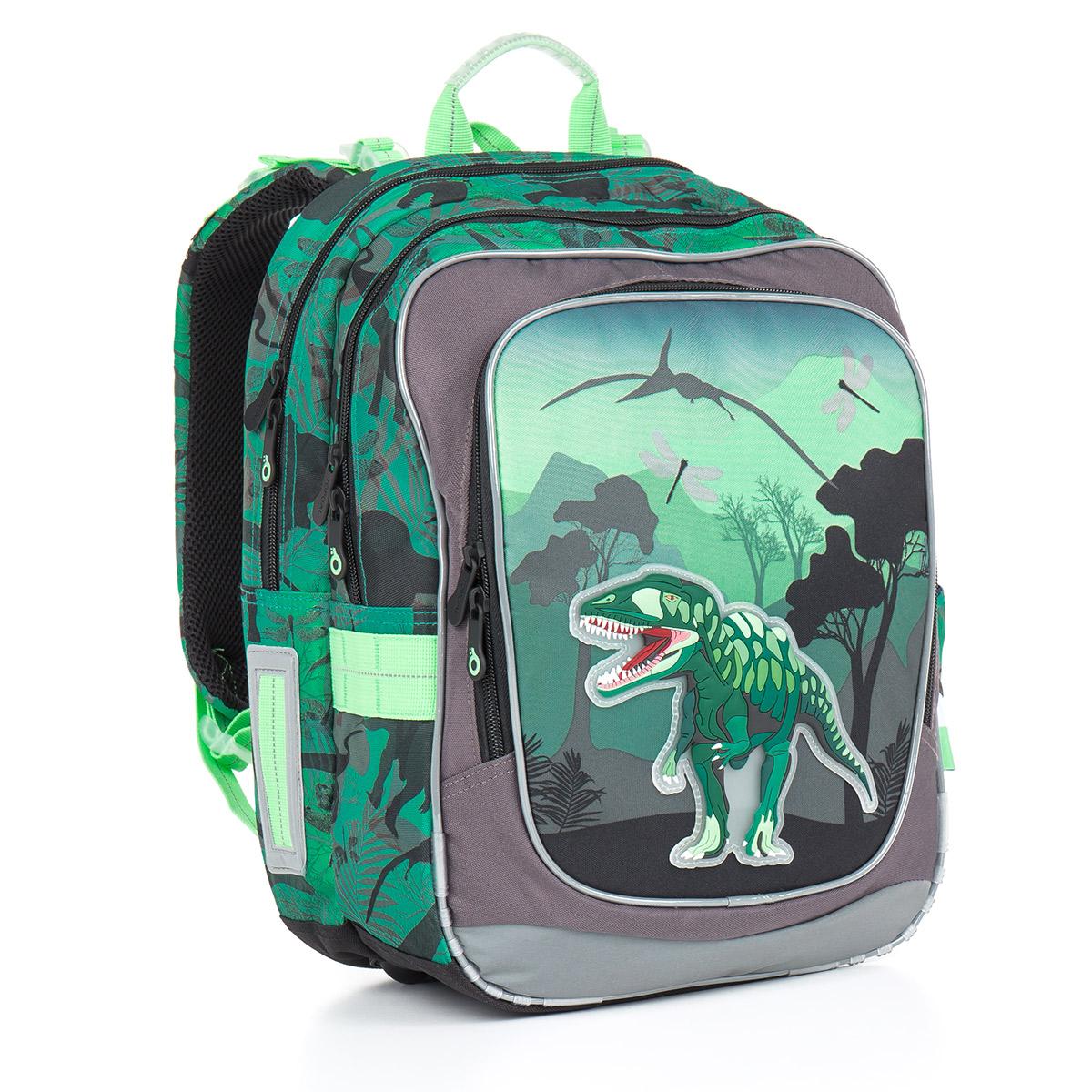 Topgal školní batoh CHI 842 E Green