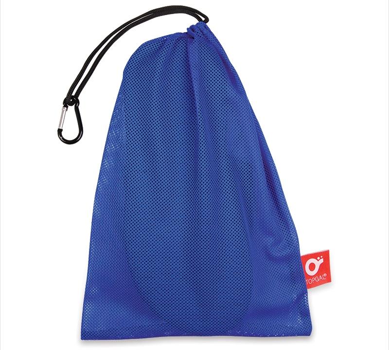 Pytlík na přezůvky Topgal TOP 150 D - Blue