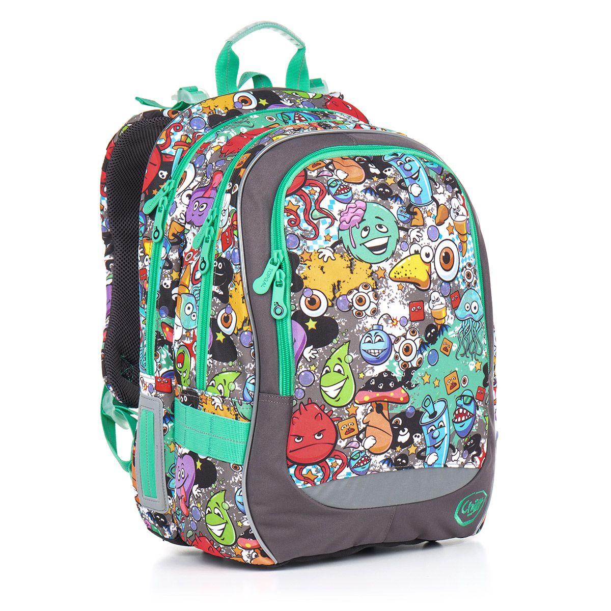 Topgal školní batoh CHI 846 C Grey