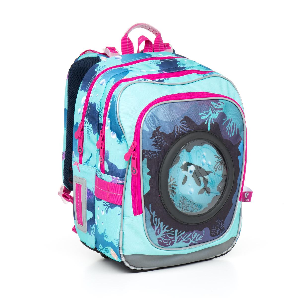 Topgal školní batoh Chilli CHI 790 D Blue