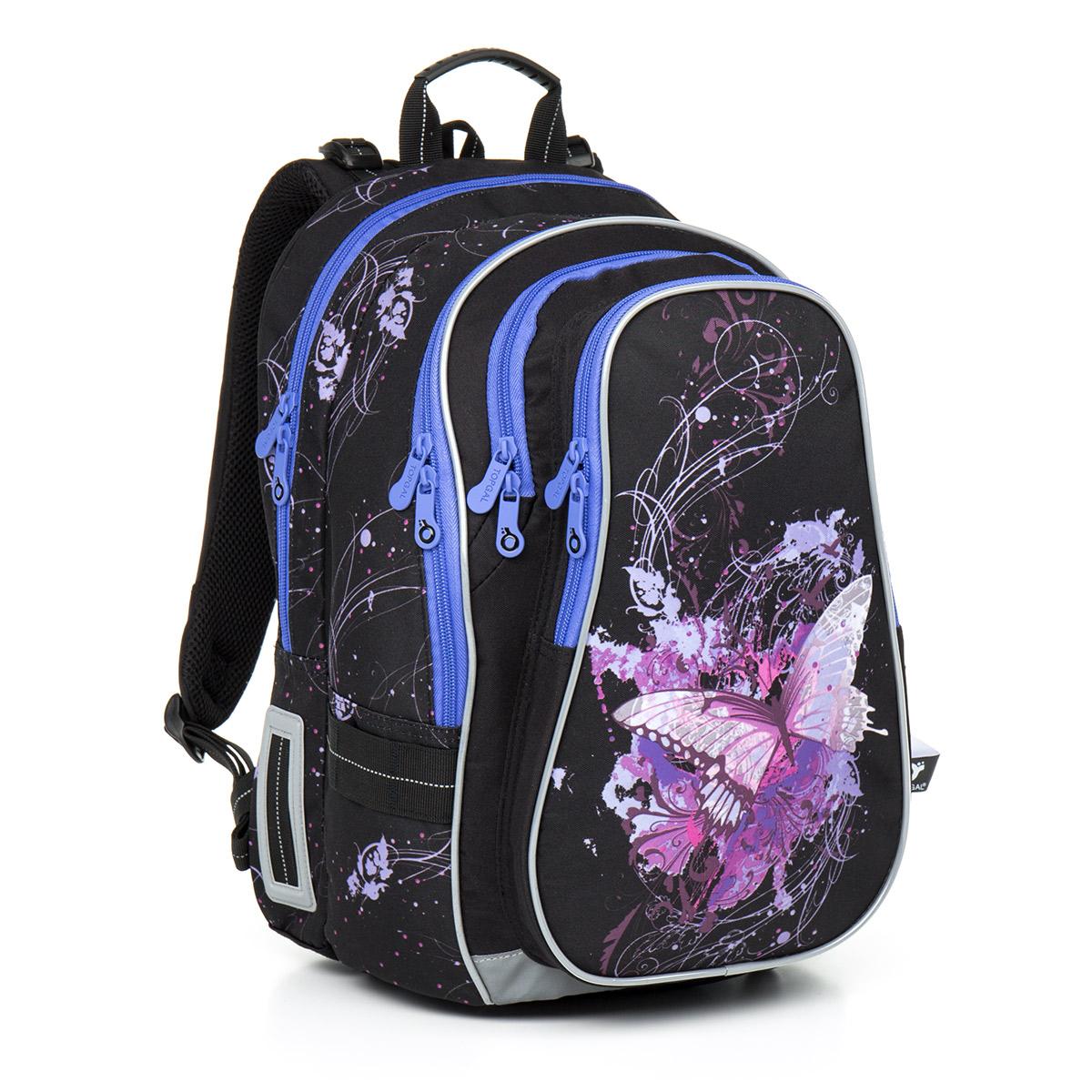 Topgal školní batoh Chilli CHI 795 A Black
