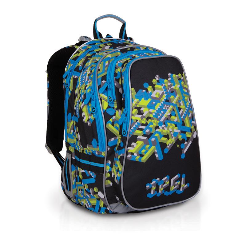 Topgal školní batoh CHI 700 A Black