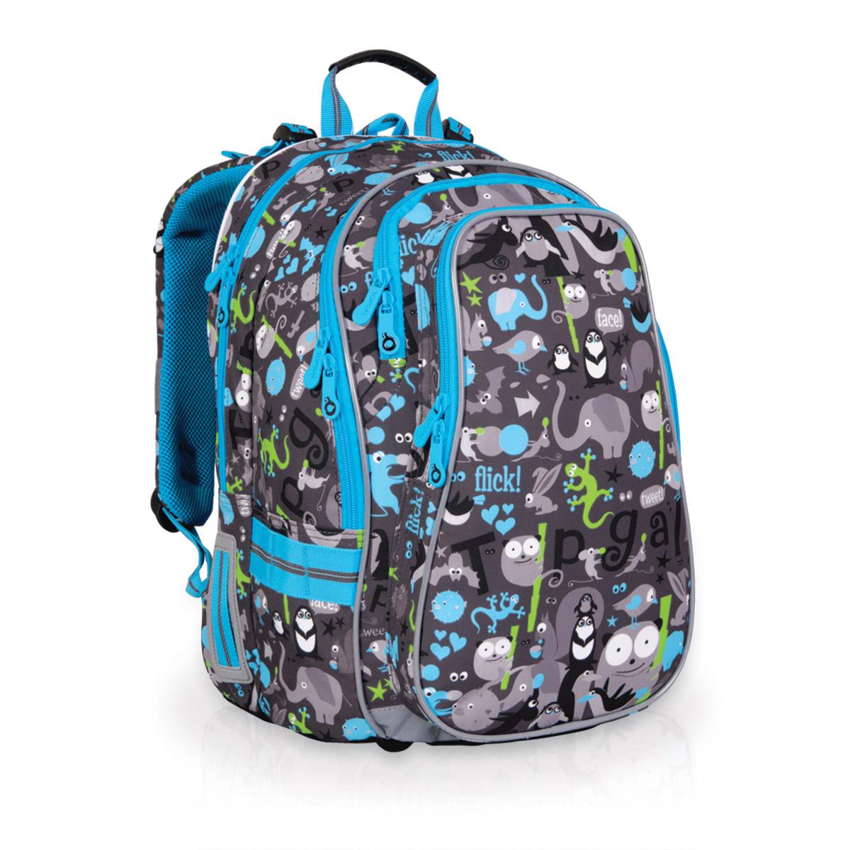 Topgal školní batoh CHI 701 C Grey