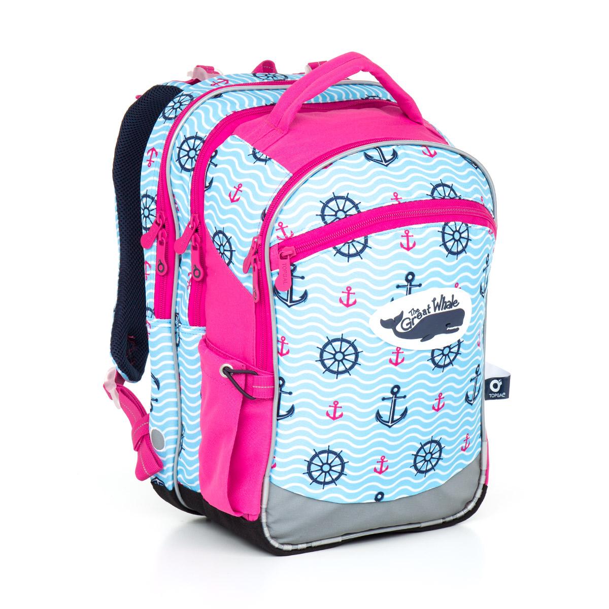 Topgal školní batoh CHI 802 H Pink