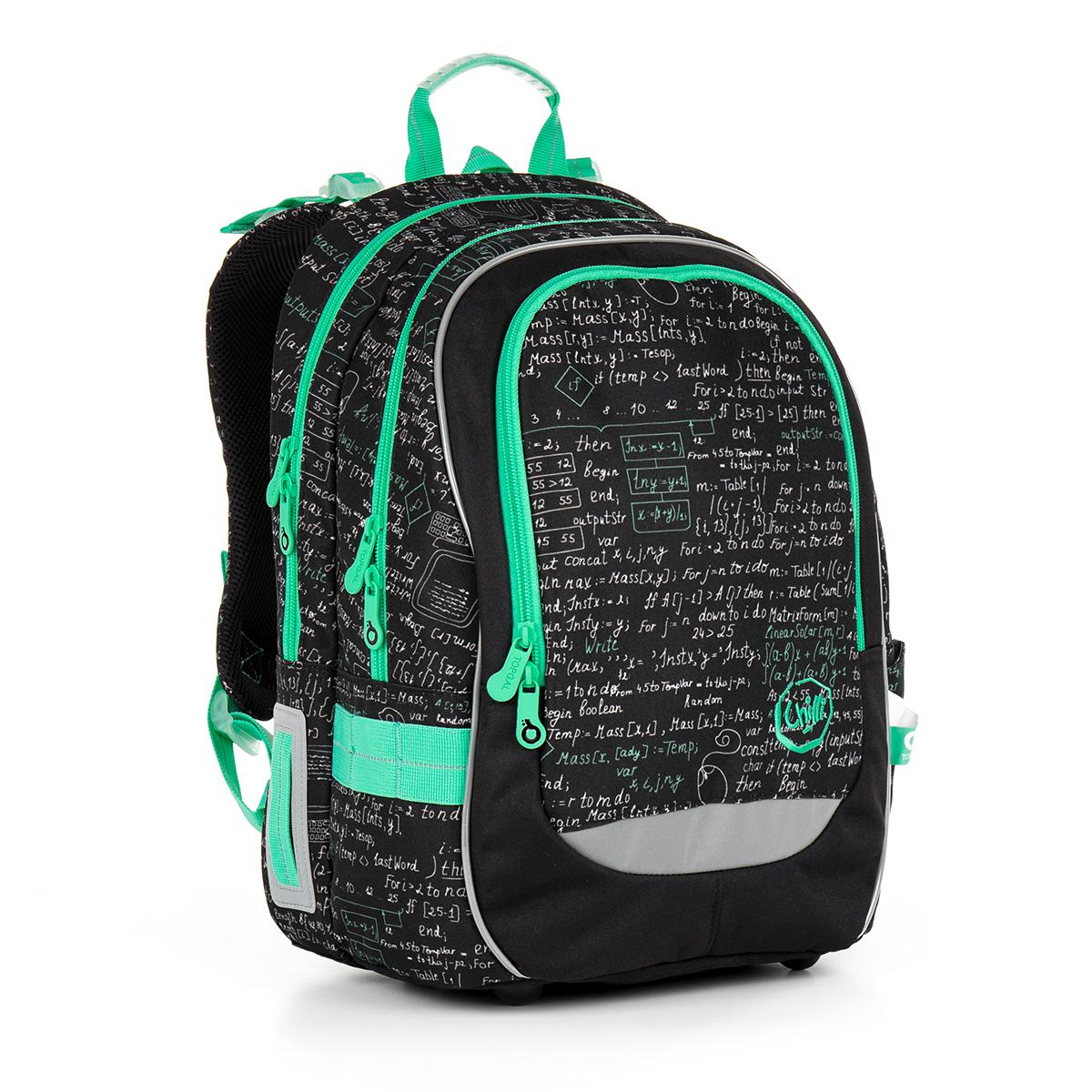 Topgal školní batoh CHI 866 A - Black