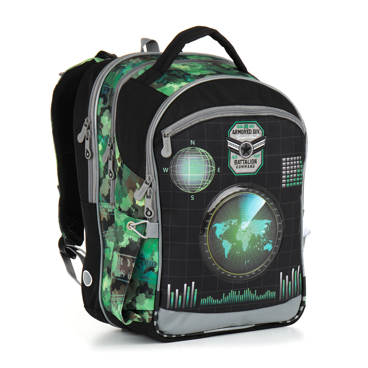 Školní batoh Topgal CHI 883 E - Green