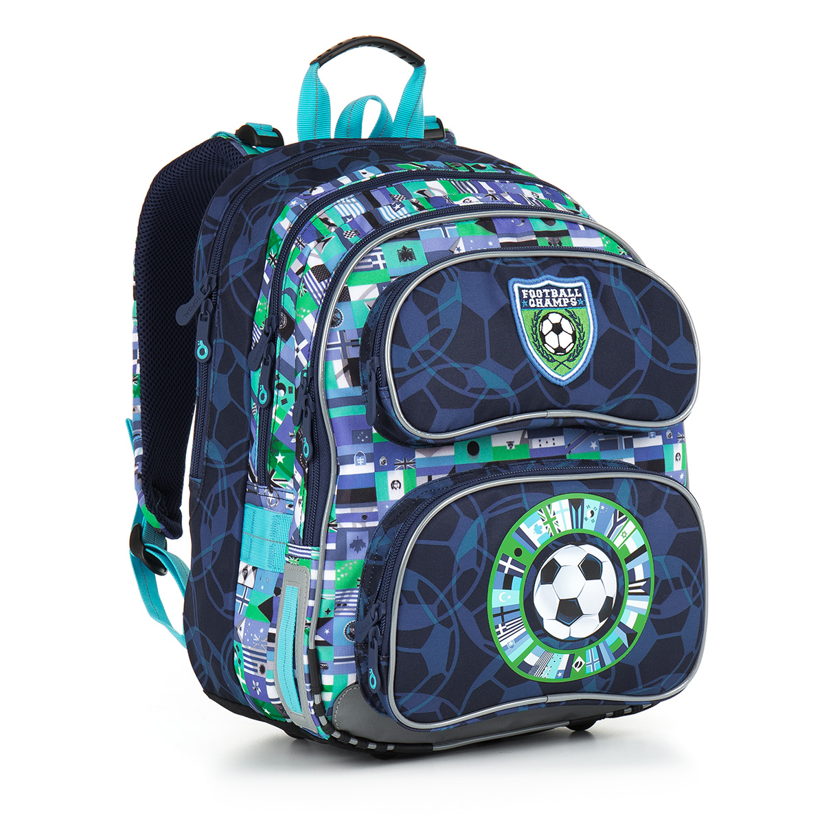 Topgal školní batoh CHI 884 D - Blue
