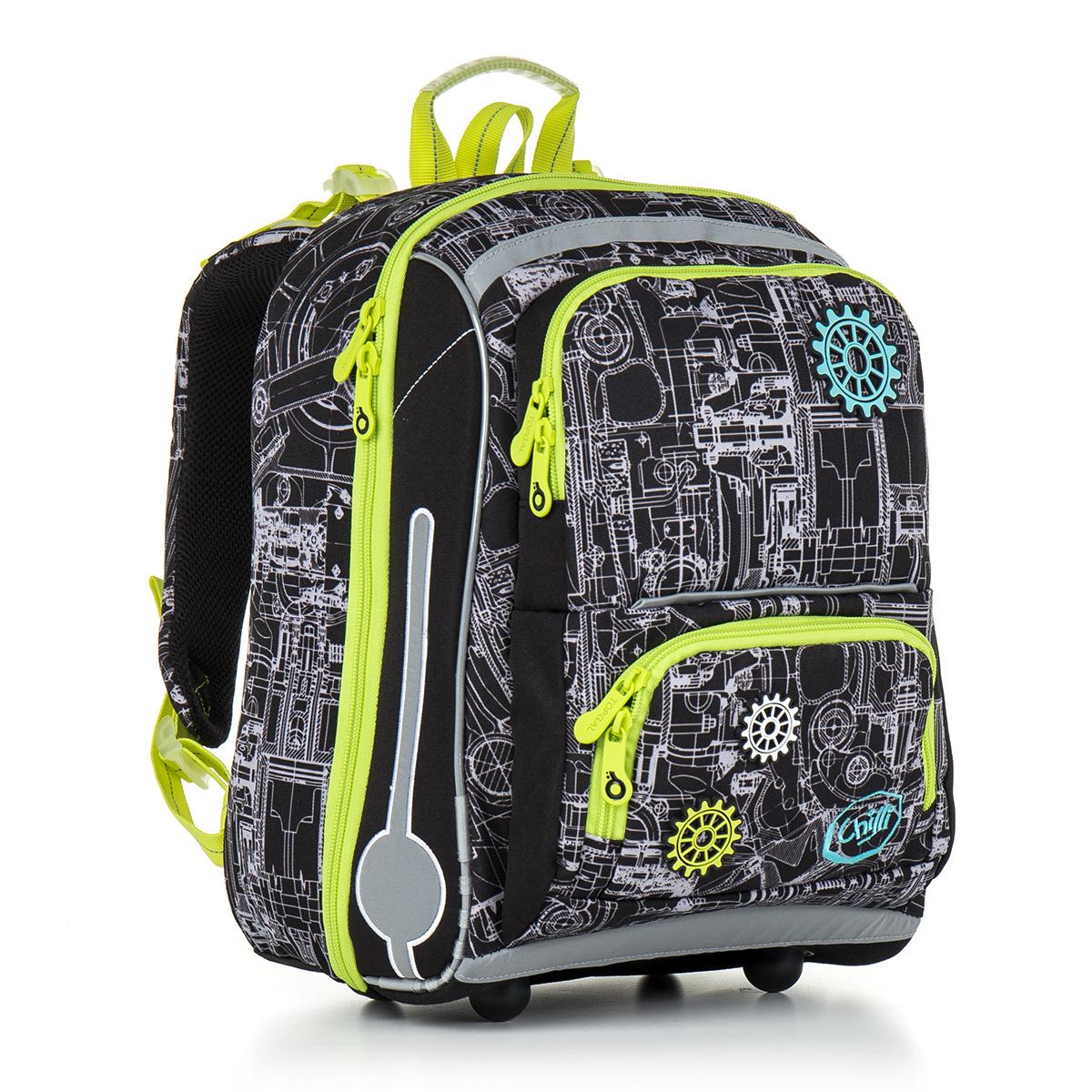 Topgal školní batoh CHI 785 A Black