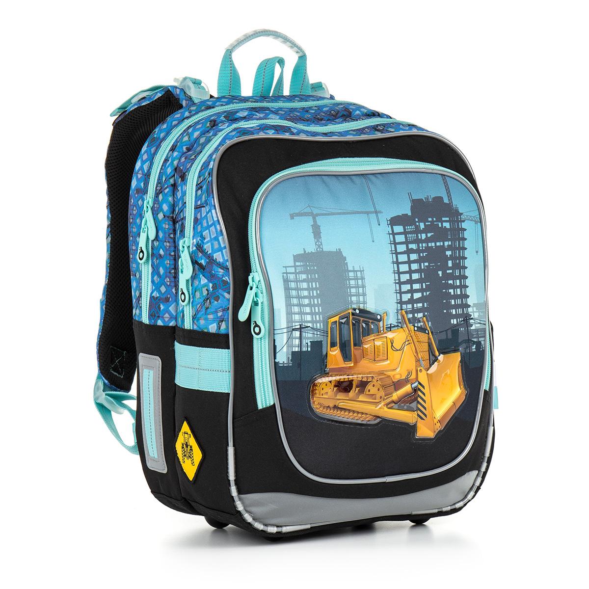 Topgal školni batoh CHI 877 D - Blue