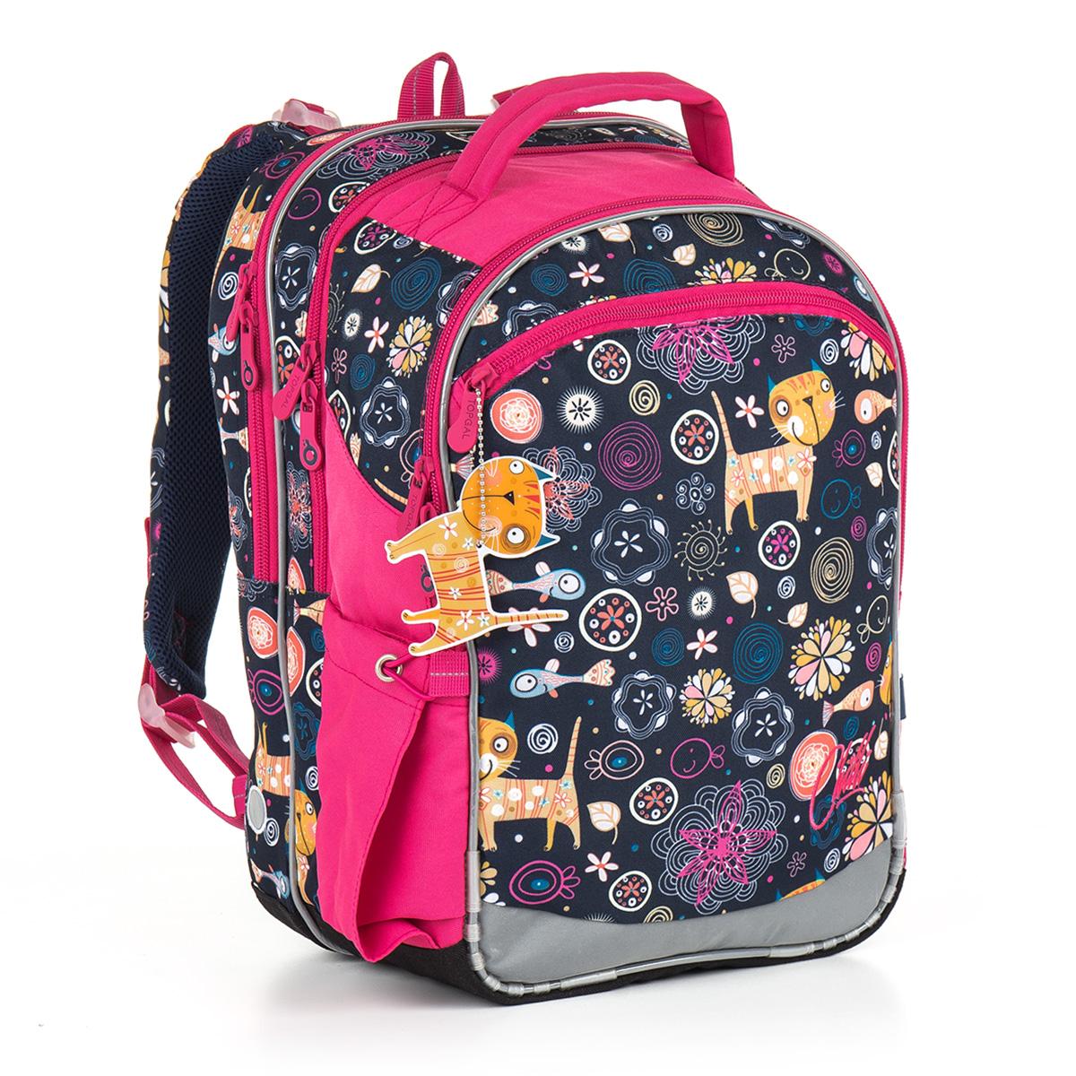 Topgal školní batoh CHI 876 D - Blue