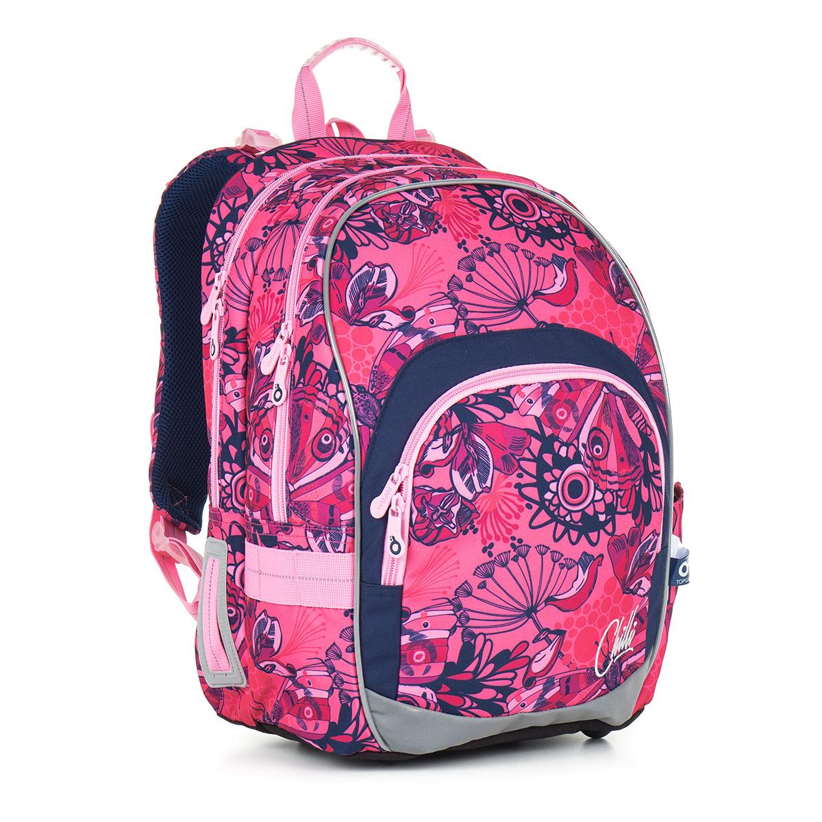 Topgal školní batoh CHI 871 H - Pink