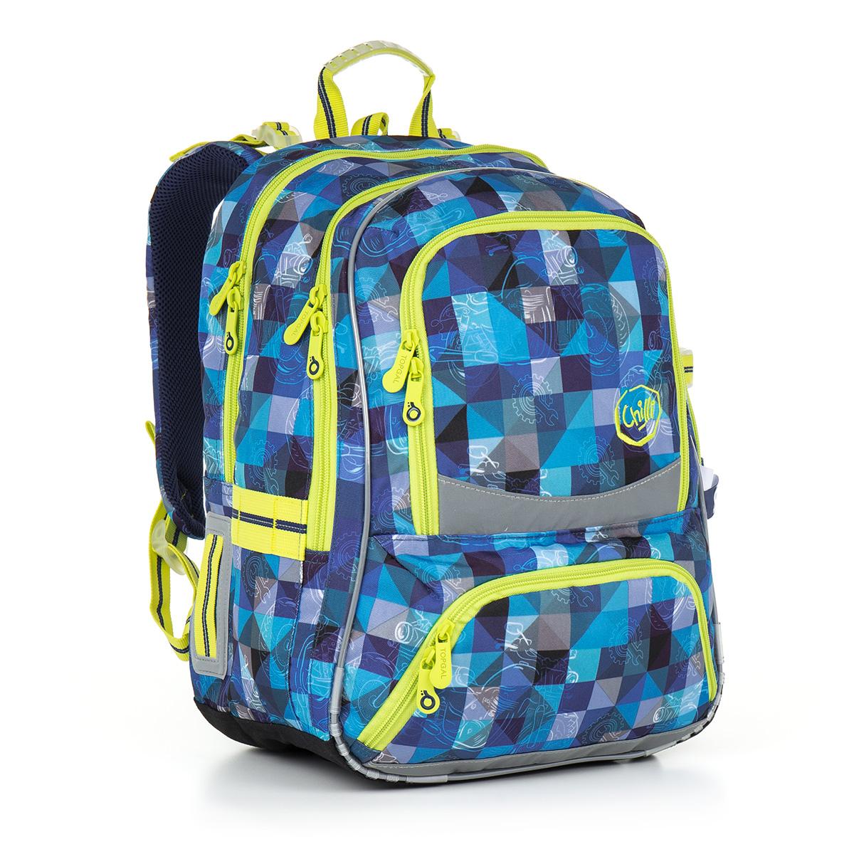 Topgal školní batoh Topgal CHI 870 D - Blue
