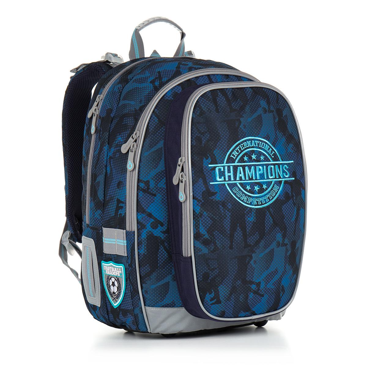 Topgal školní batoh CHI 881 D - Blue
