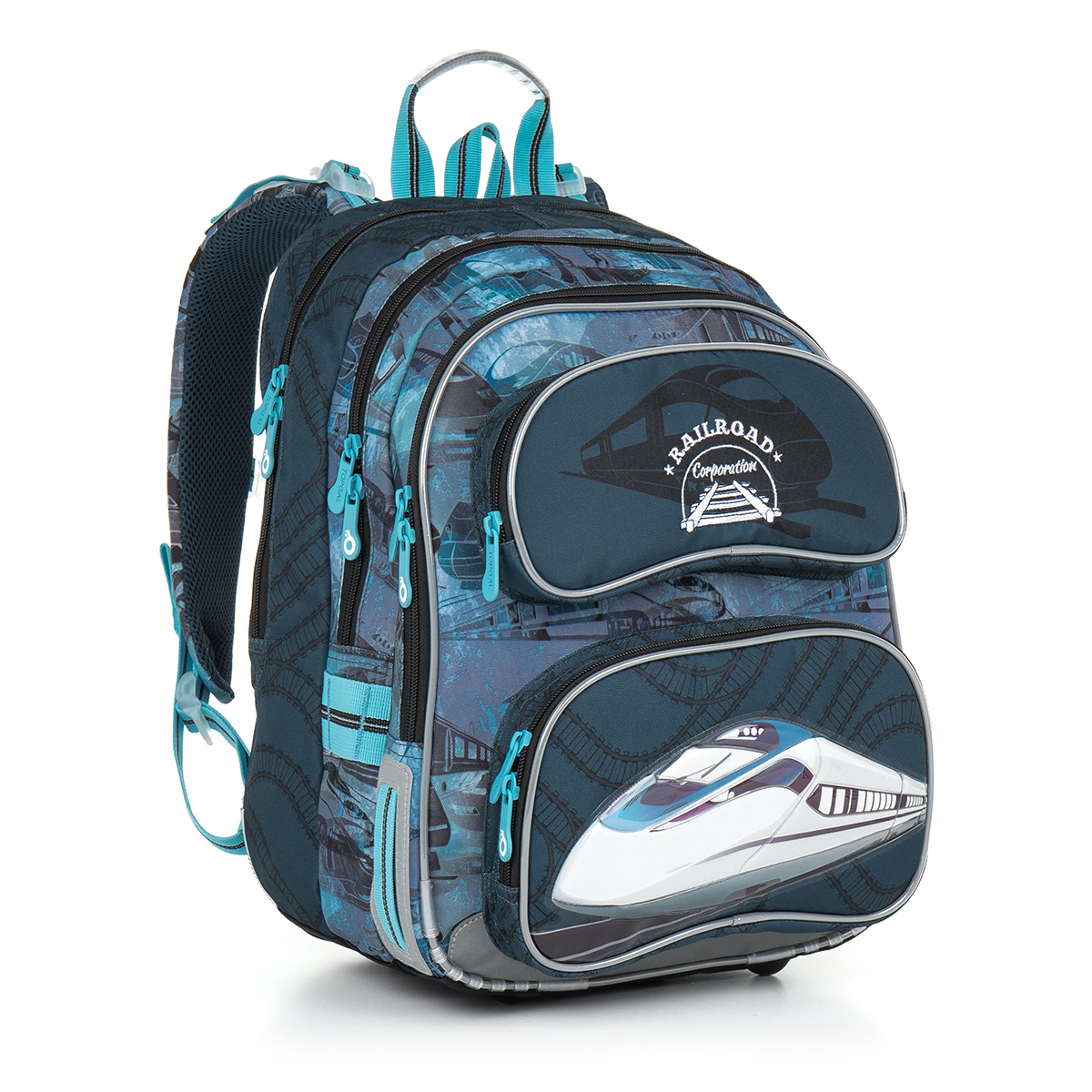 Topgal školni batoh CHI 865 D - Blue