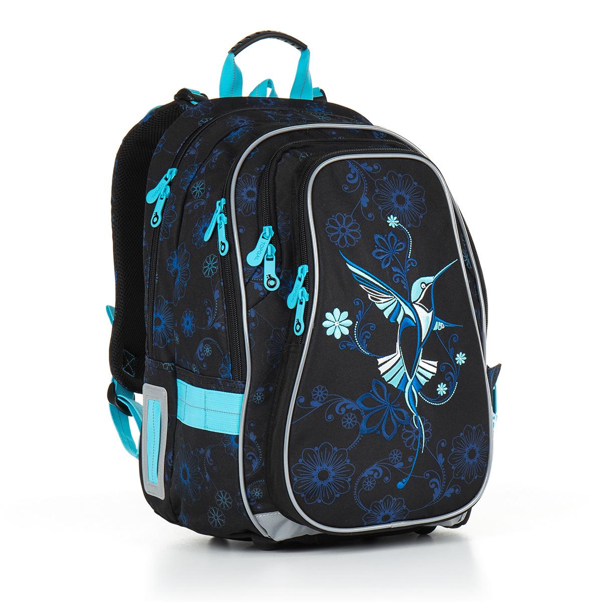 Topgal školní batoh CHI 882 A - Black