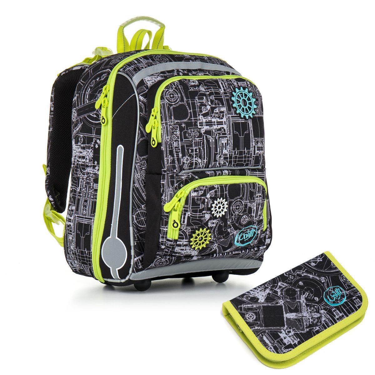 Topgal Topgal školní batoh pro prvňáčky sada pro školáka CHI 785 A SET SMALL