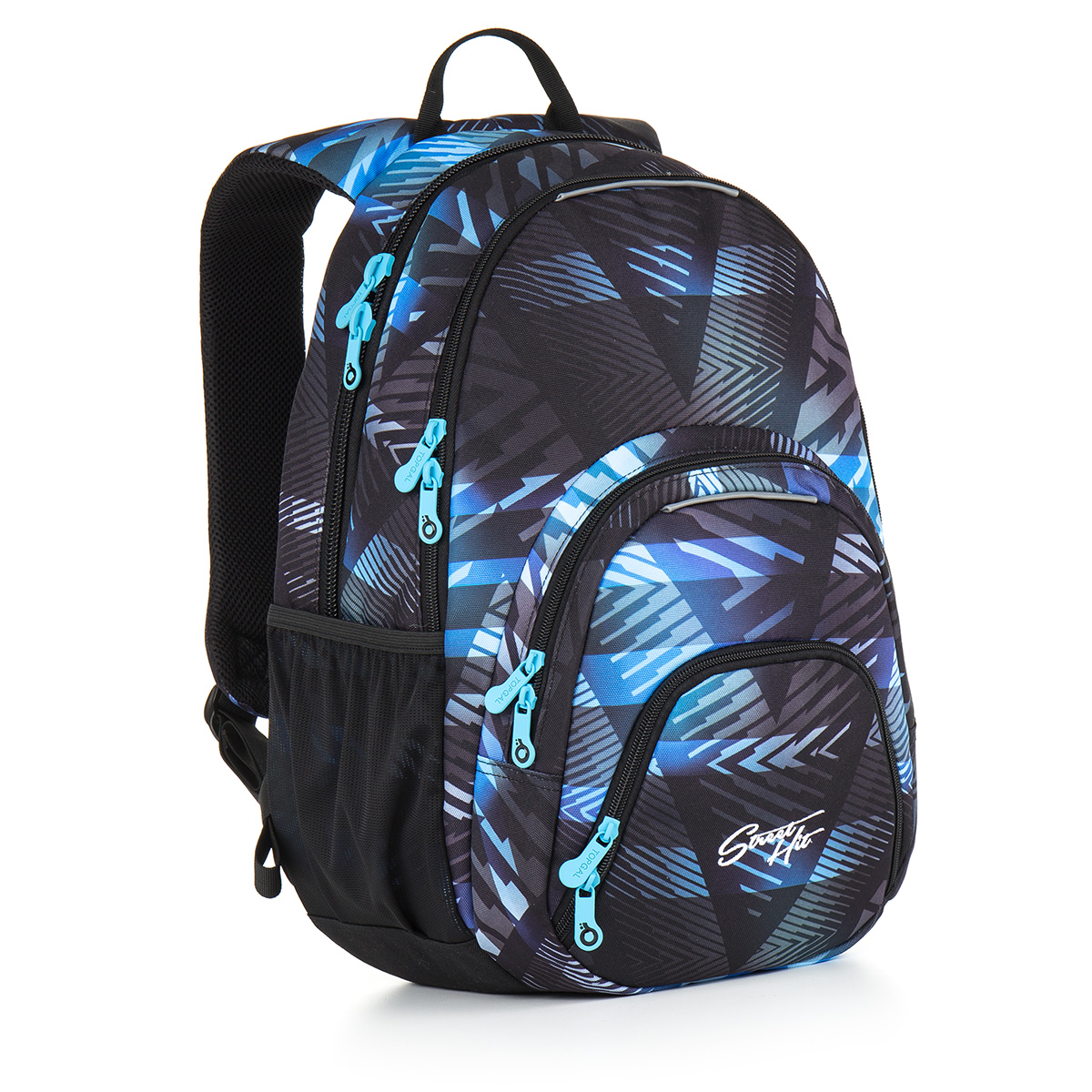 Topgal studentský batoh HIT 886 D - Blue