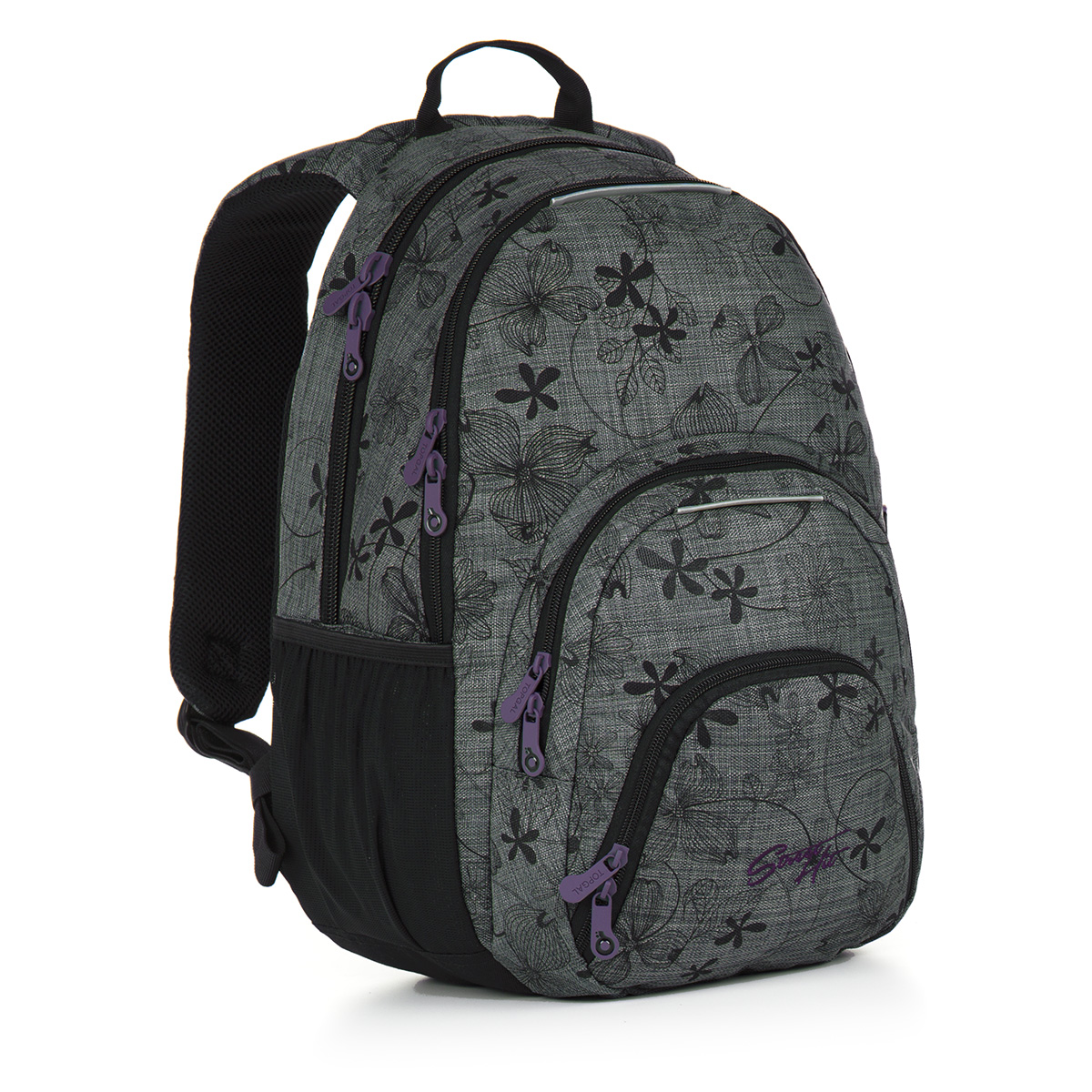 Topgal studentský batoh HIT 897 C - Grey