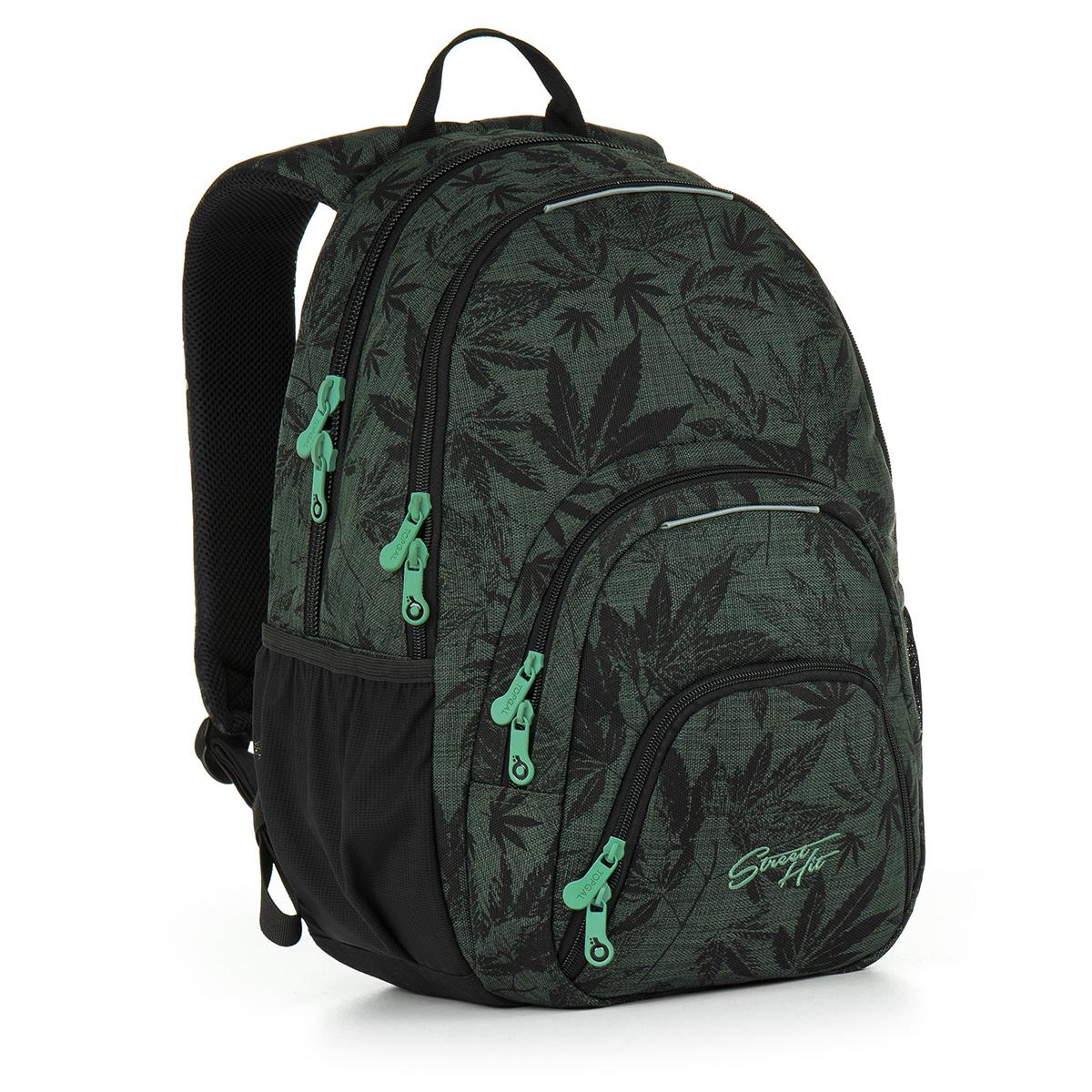 Topgal studentský batoh HIT 895 E - Green