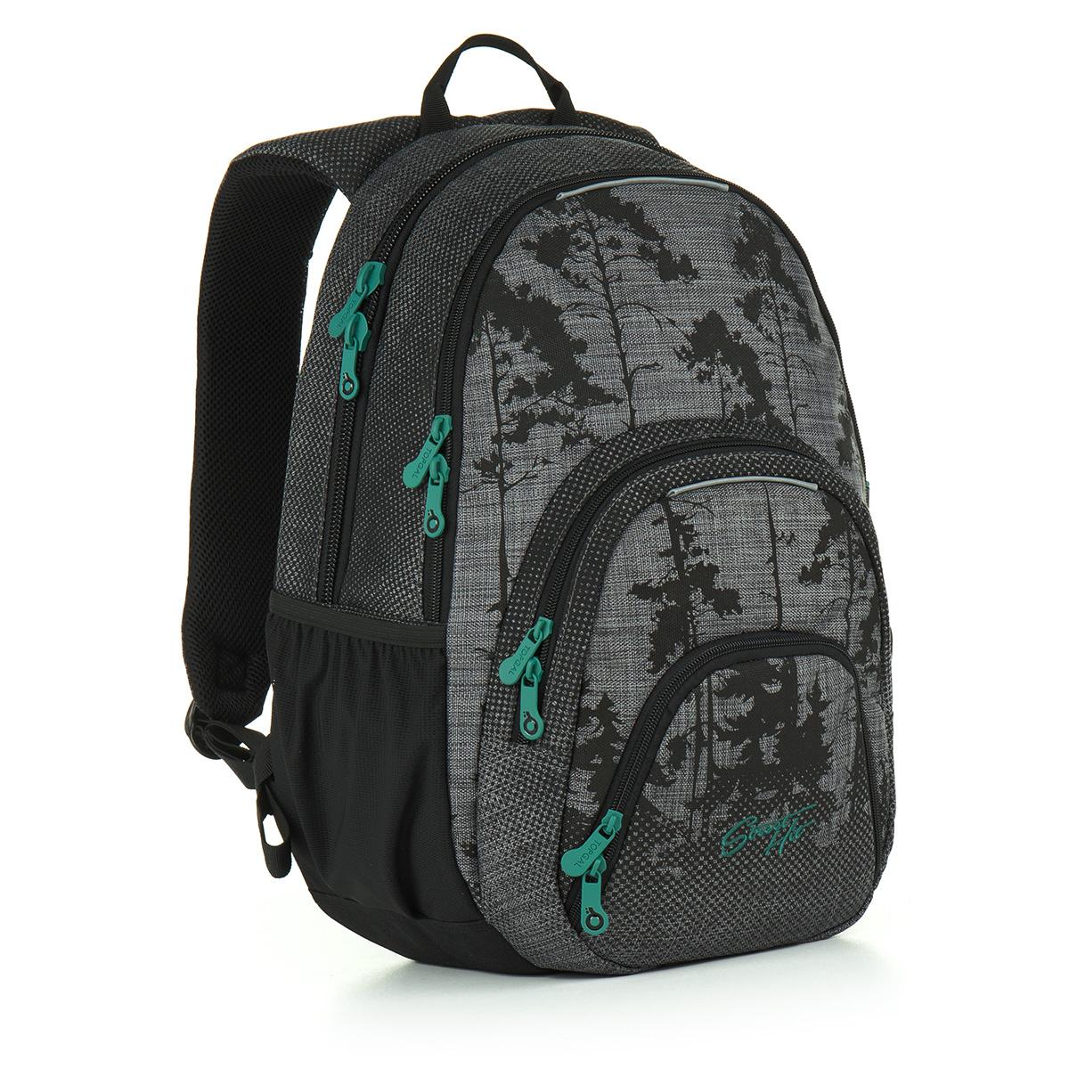 Topgal studentský batoh HIT 896 C - Grey