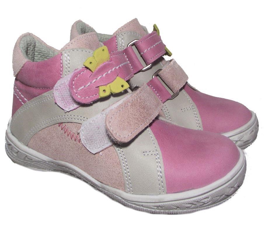Dětské celoroční boty Essi S 1702 růžová Velikost: 24 (EU)
