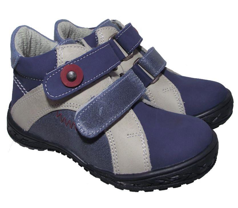 Dětské celoroční boty Essi S 1702 modrá Velikost: 23 (EU)