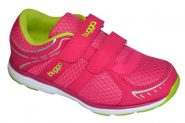Dětská sportovní obuv Bugga B00121-03 růžová Velikost: 26 (EU)